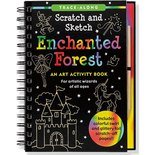Peter Pauper Press Scratch & Sketch Enchanted Forest