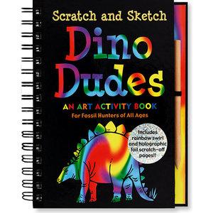 Peter Pauper Press Scratch And Sketch Dino Dudes