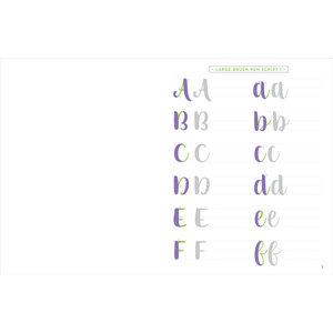 Peter Pauper Press Brush Lettering Beginner Workbook