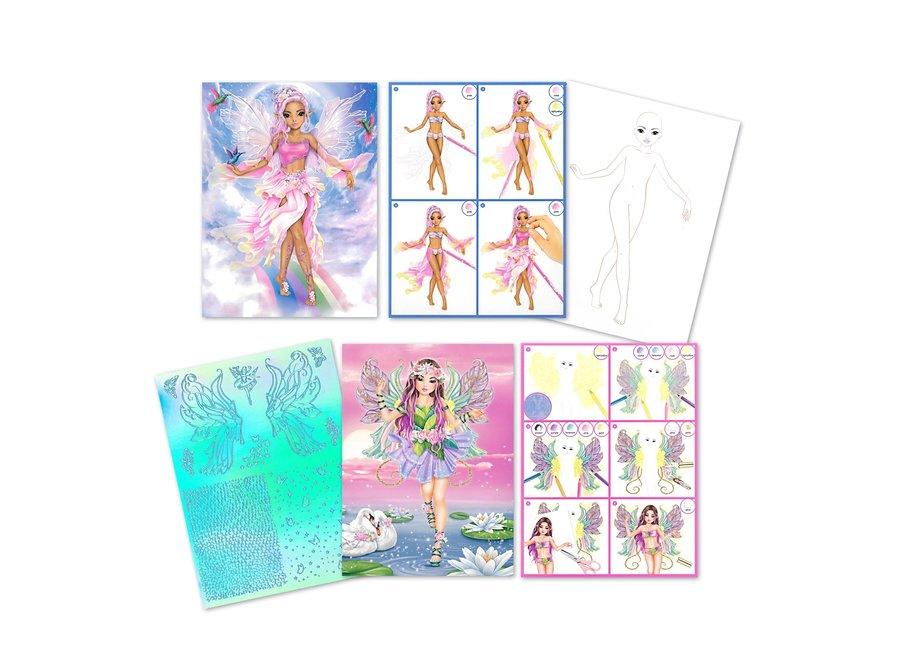 Create Your Fantasy Model Activity Book