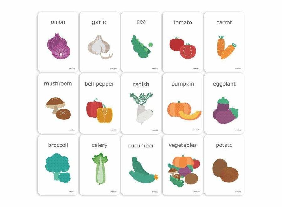 Cognitive Flash Cards - Vegetables