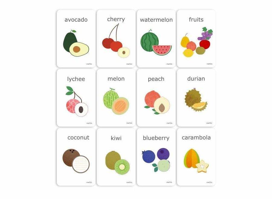 Cognitive Flash Cards - Fruits