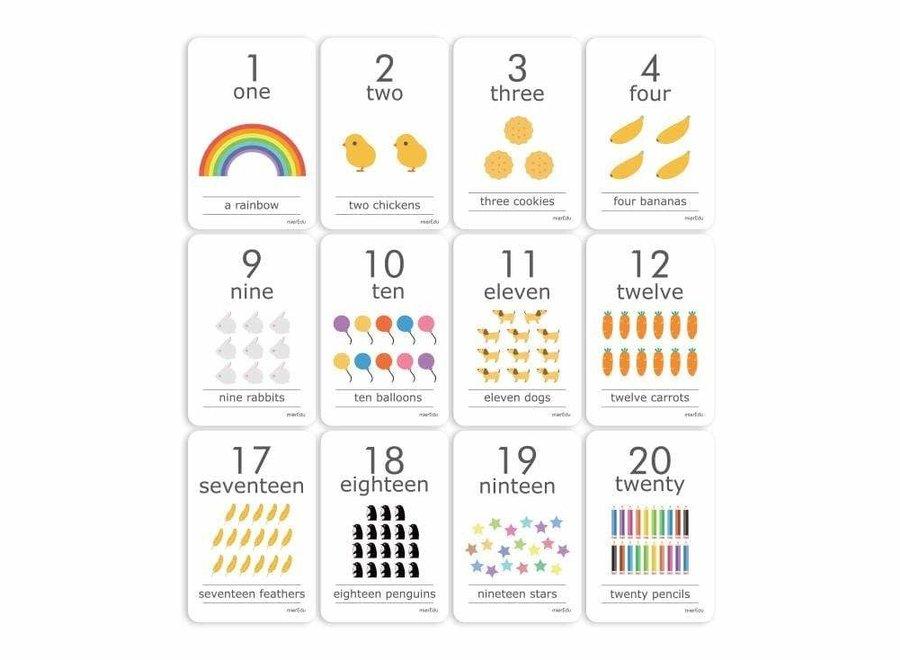 Cognitive Flash Cards - Let's Count