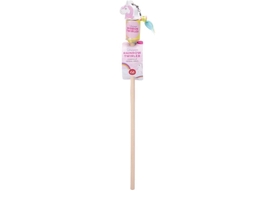 IS GIFT Unicorn Rainbow Ribbon Twirler