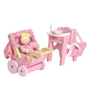 Le Toy Van Daisylane Nursery Accessory Set