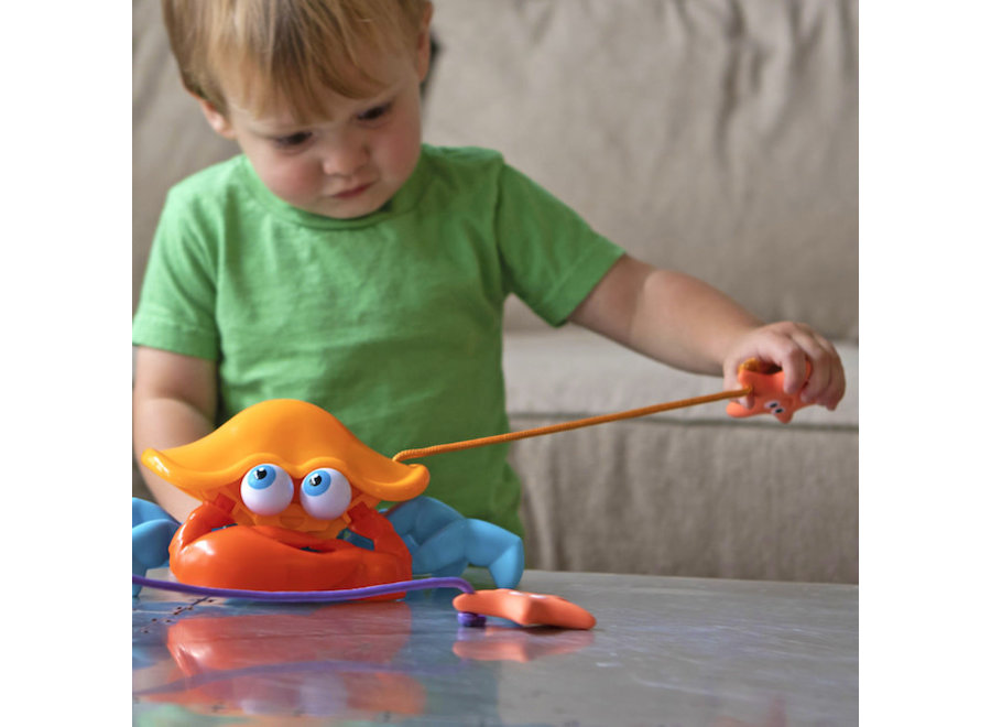 Fat Brain Toys Crabby Pull And Push Along