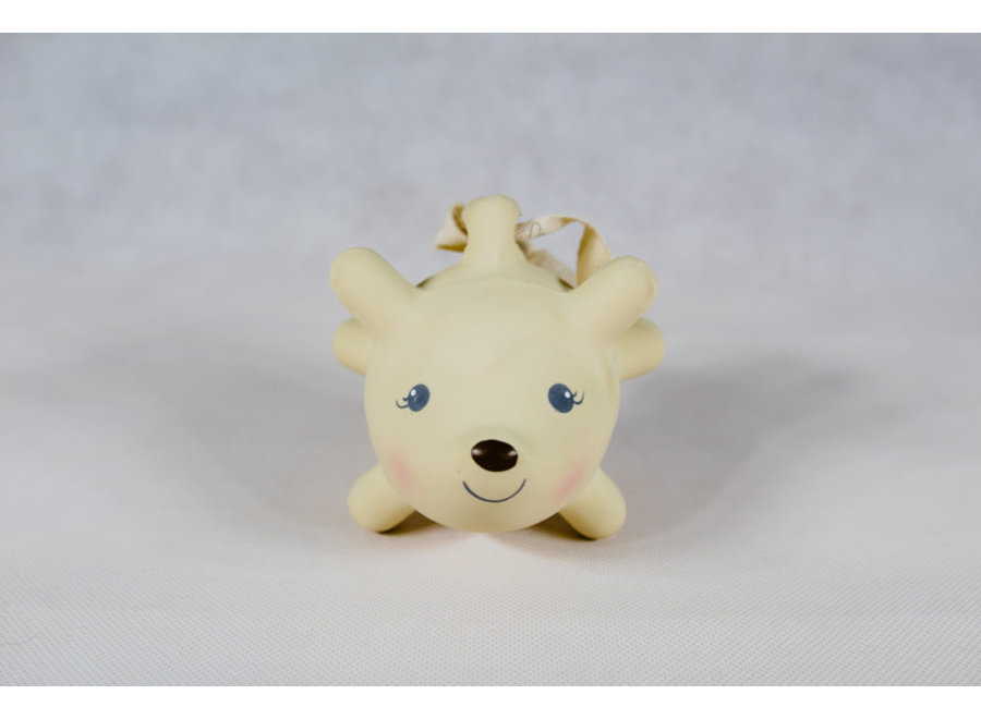 Ethan the Hedgehog Rubber Rattle