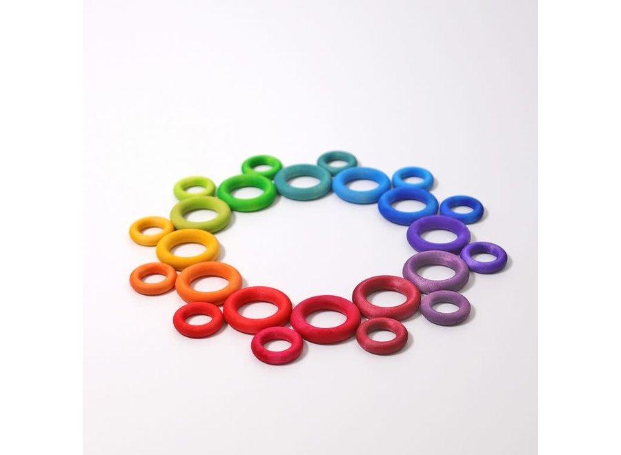Grimm's Rainbow Building Rings