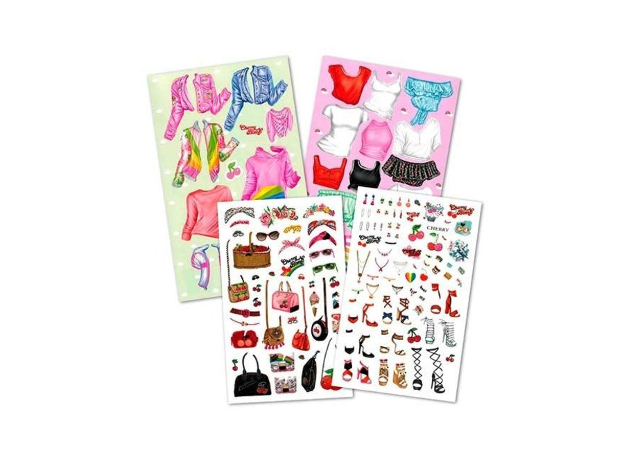 Cherry Bomb Dress Me Up Sticker Book