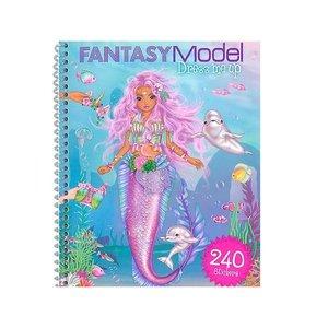 Fantasy Model Fantasy Model Dress Me Up Sticker Book