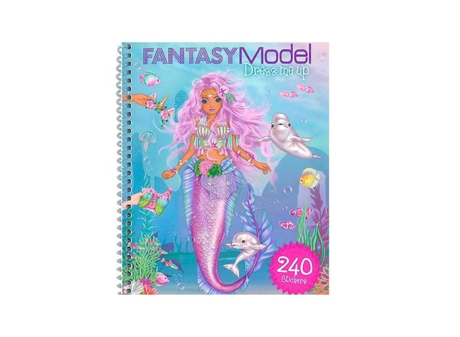 Fantasy Model Dress Me Up Sticker Book