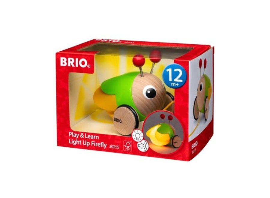Brio Play and Learn Light Up Firefly
