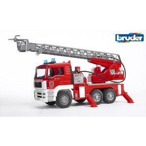 Bruder Fire Engine w/Water Pump & Lights