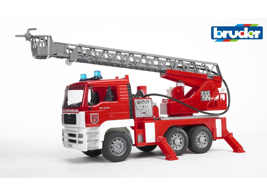 Bruder Fire Engine w/Water Pump & Lights
