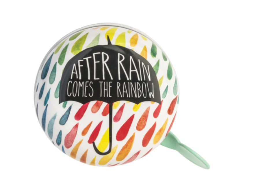 Bike Bell - After Rain Comes the Rainbow