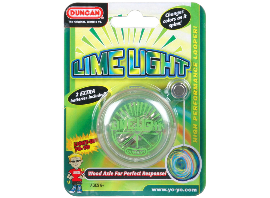Duncan Yo Yo Beginner Lime Light