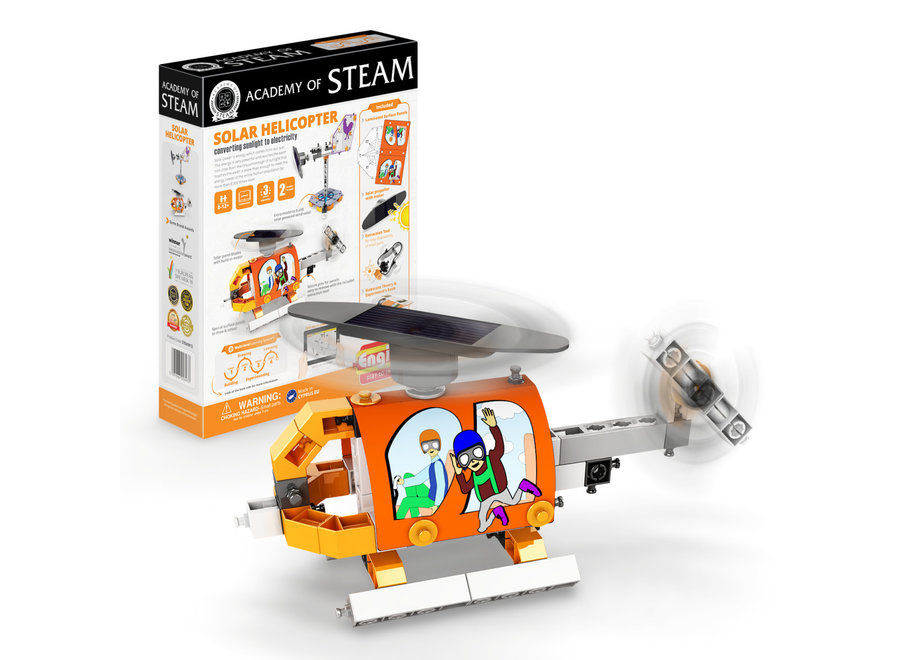 Academy Of Steam Solar Helicopter