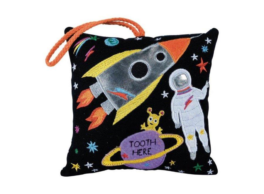 Floss & Rock Tooth Fairy Cushion – Space