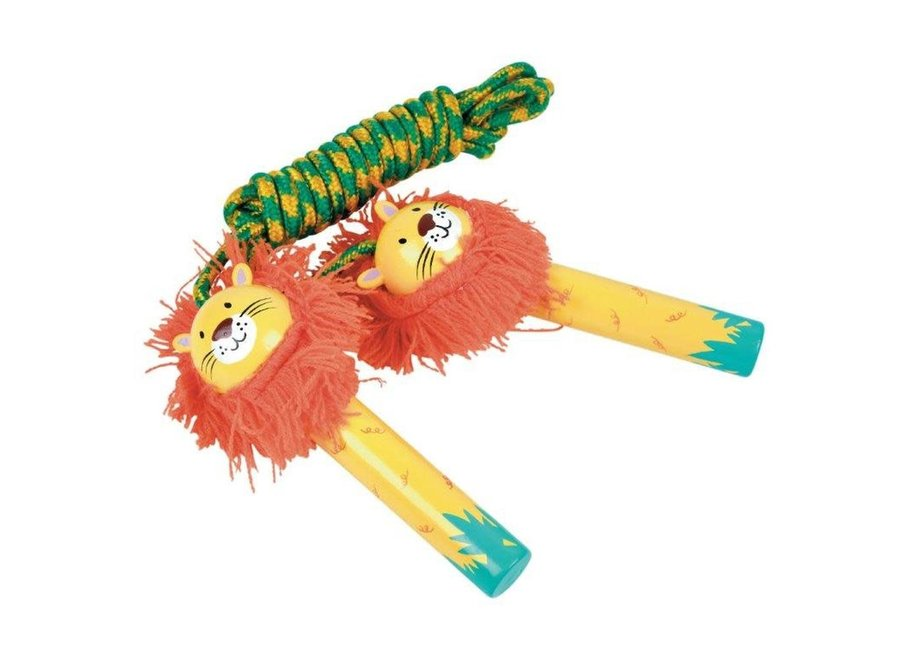 Floss & Rock Skipping Rope – Lion