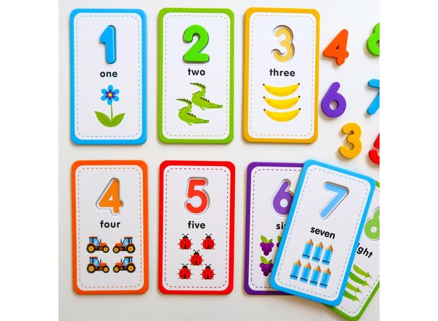 Flashcards & 123 Magnetic Numbers