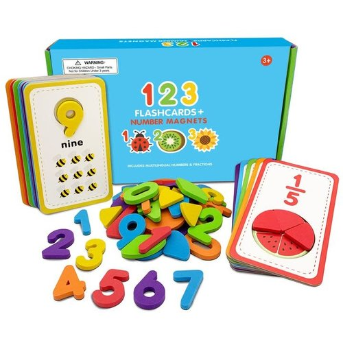 Curious Columbus Flashcards & 123 Magnetic Numbers