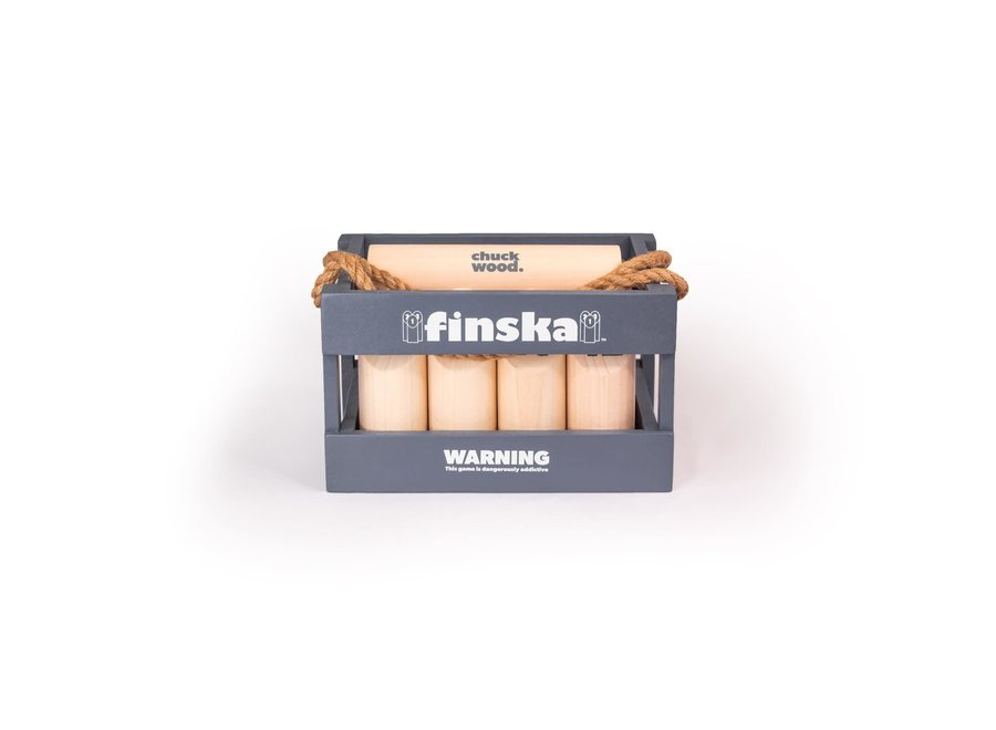 Blue Finska Knockdown Pins