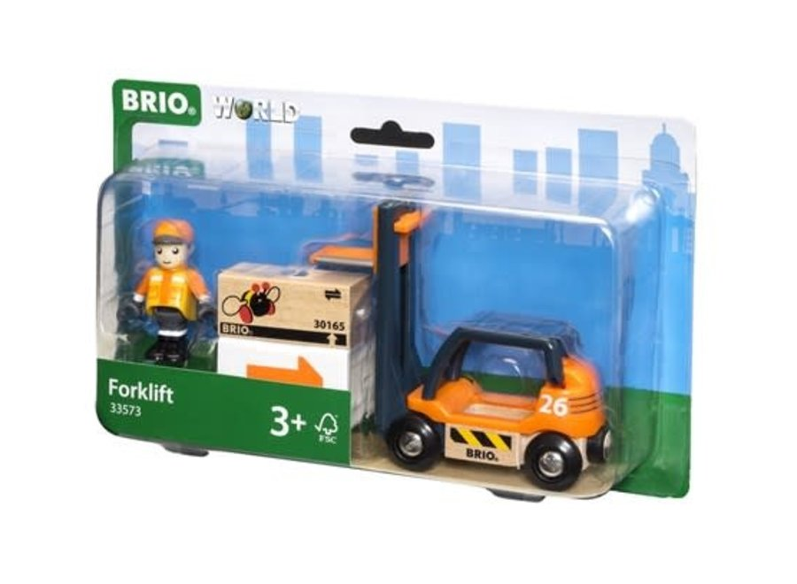 BRIO Vehicle - Forklift 4 pieces