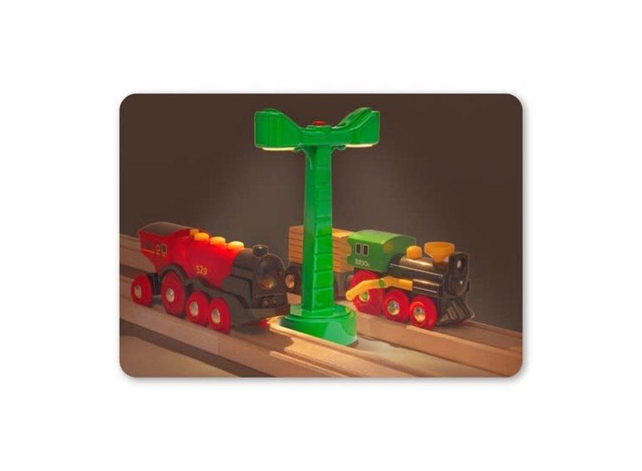 BRIO Tracks - Railway Light