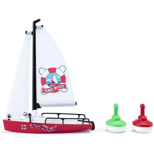 Siku - Sailing Boat with Buoys 1:50
