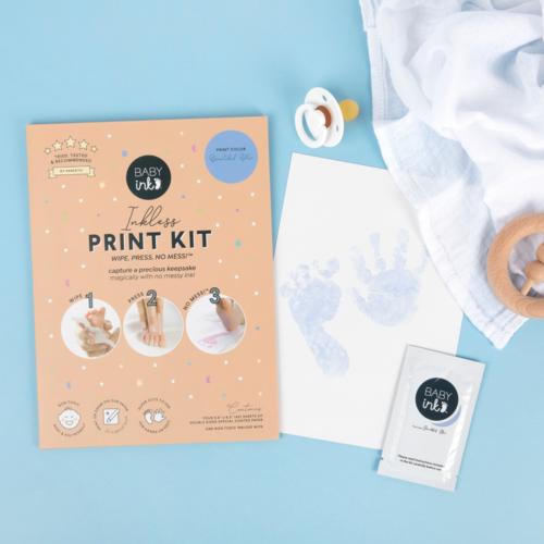 BabyInk BabyInk - Blue Ink-less Print Kit