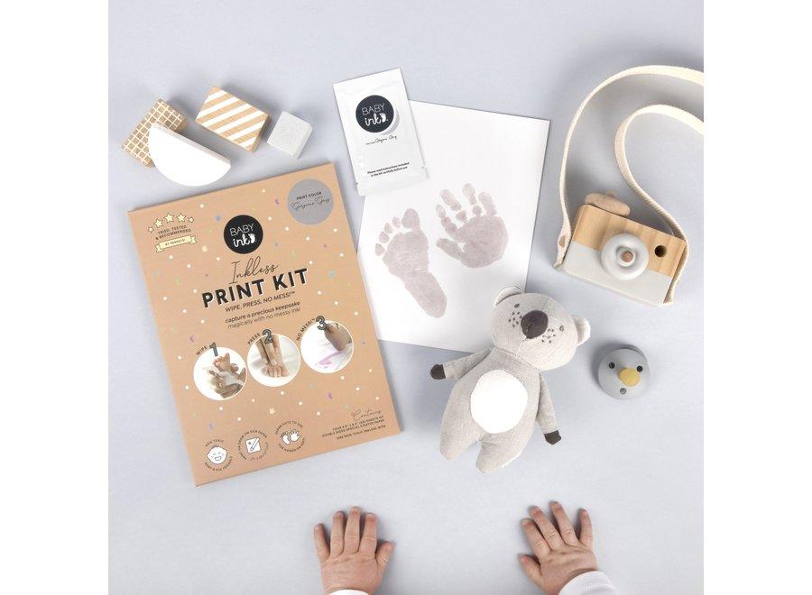 BabyInk - Grey Ink-less Print Kit