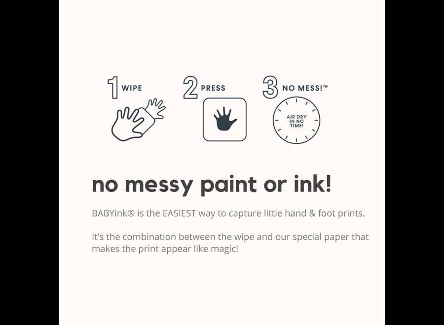 BabyInk - Bronze Ink-less Print Kit