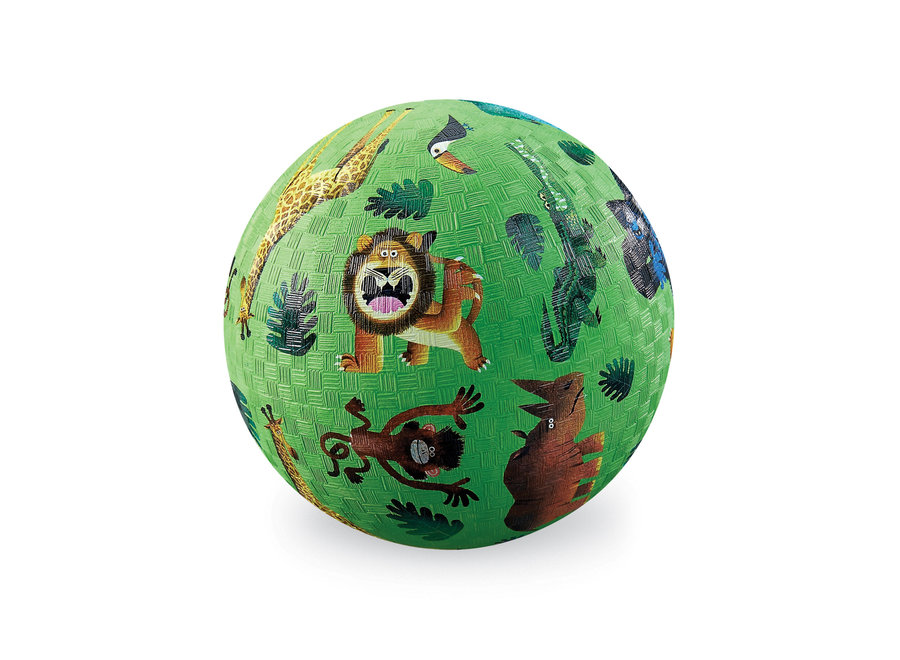 7 Inch Playground Ball - Very Wild Animals