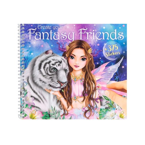 Create Your Fantasy Friends Activity Book