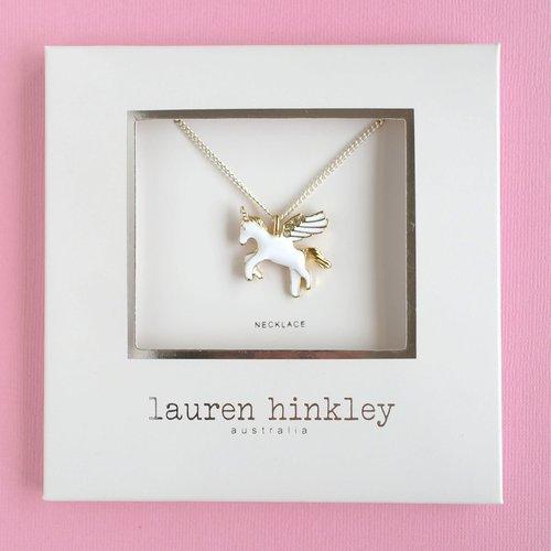 Lauren Hinkley Flying Unicorn Necklace