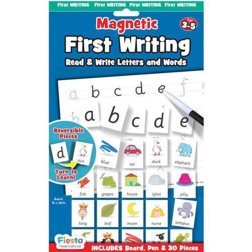 Fiesta Crafts Magnetic First Writing