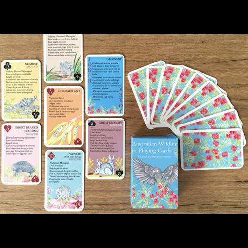 Australian Wildlife Playing Cards