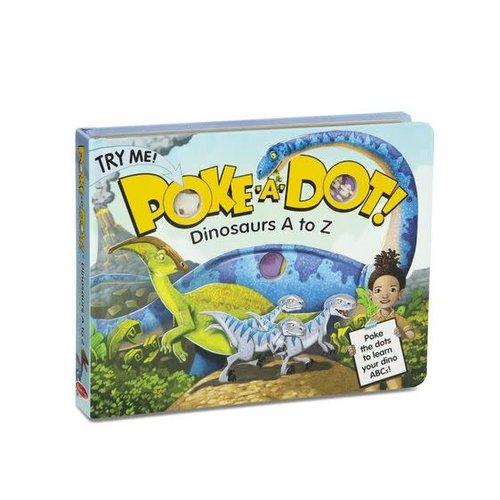 Poke-A-Dot - Dinosaurs A to Z Book