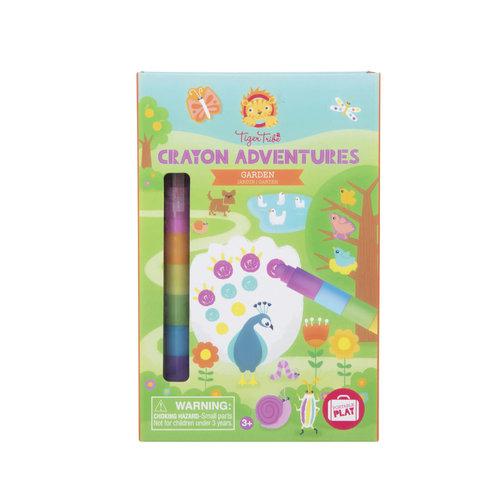 Tiger Tribe Crayon Adventures - Garden