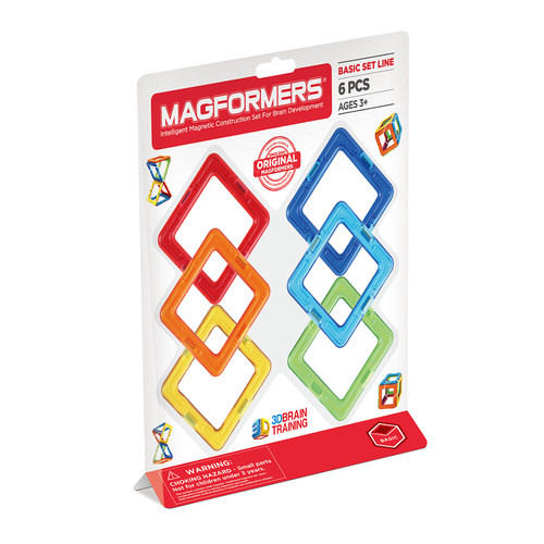 Magformers 6pc Squares