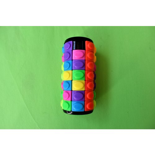 7 Level Cylinder Rotate & Slide Puzzle