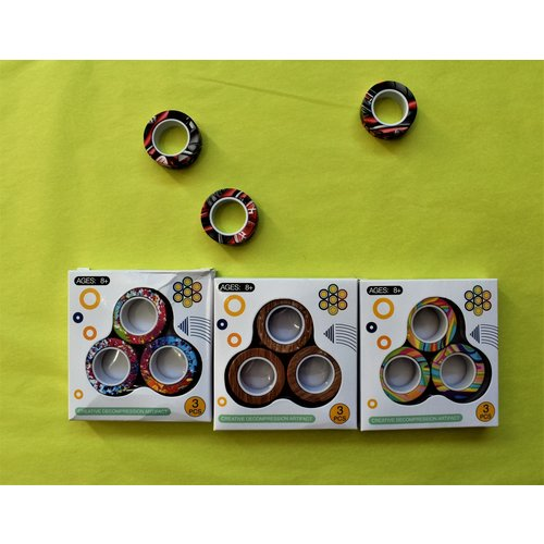 Magnetic Rings 3 Pieces