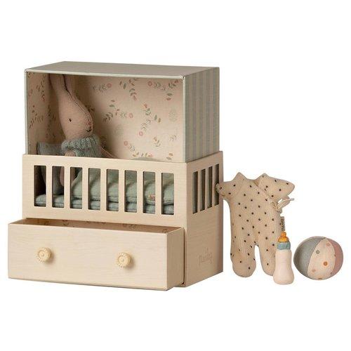 Maileg Baby Room w.Micro Rabbit