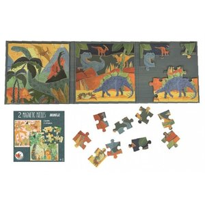 Magnetic Dino Puzzle