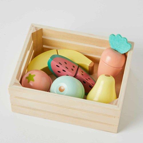 Nordic Kids Wooden Fruit Play Set