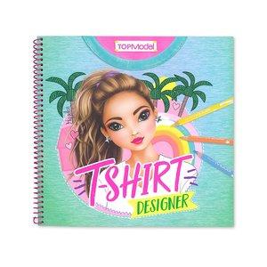 T-Shirt Designer Colouring & Activity Book