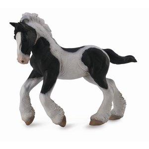 Collecta Gypsy Foal - Black & White Piebald