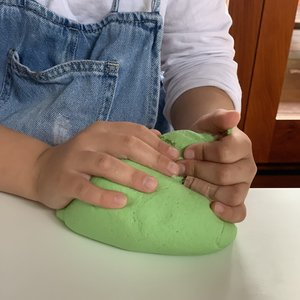 Pour&Play Sea Turtle Green Playdough