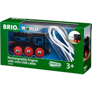 Brio Brio Rechargeable Engine With Usb Cable