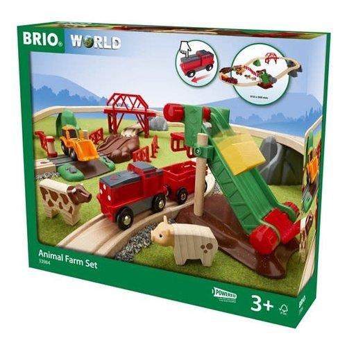 Brio BRIO Set - Animal Farm Set, 30 pieces